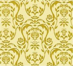 Tapete Regency Gold